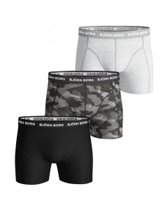 Björn Borg Solid Essential Shadeline 3x Boxershorts