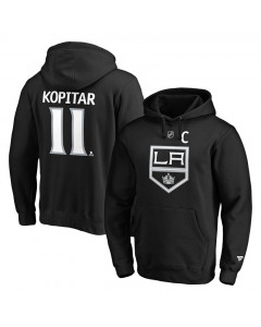 Anže Kopitar 11 Los Angeles Kings Iconic Name & Number Graphic pulover s kapuco