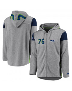 Seattle Seahawks Iconic Franchise Full Zip majica sa kapuljačom