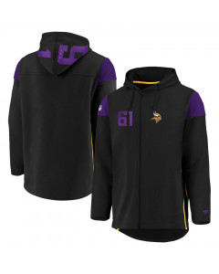 Minnesota Vikings Iconic Franchise Full Zip majica sa kapuljačom