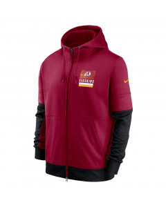 Washington Redskins Nike Lockup Therma Full Zip Kapuzenjacke