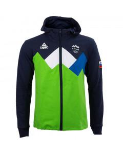 Slovenija OKS Peak zip majica sa kapuljačom