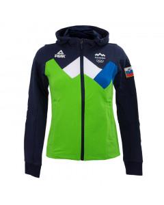 Slovenija OKS Peak ženska zip majica sa kapuljačom
