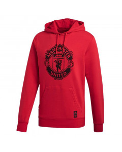 Manchester United Adidas DNA pulover s kapuco