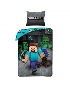 Minecraft obostrana posteljina 140x200