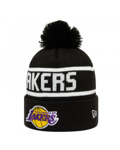 Los Angeles Lakers New Era Team Jake Bobble Cuff Wintermütze