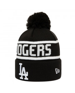 Los Angeles Dodgers New Era Team Jake Bobble Cuff Wintermütze