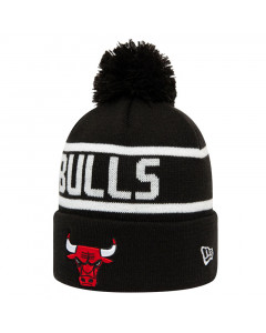 Chicago Bulls New Era Team Jake Bobble Cuff Wintermütze