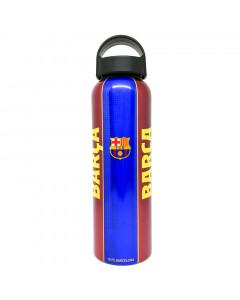 FC Barcelona Home Alu Trinkflasche mit Unterschriften 600 ml
