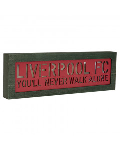 Liverpool FC Light Up Holztafel mit Licht