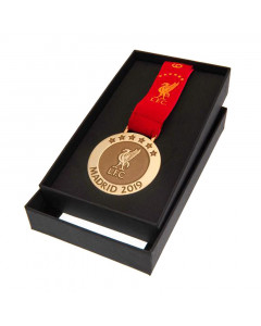 Liverpool FC Madrid 19 Replica Medaille