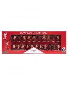 Liverpool SoccerStarz 2019/2020 Leage Champions 21 Player Home Team Pack Limited Edition Figuren