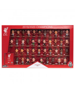 Liverpool SoccerStarz 2019/2020 League Champions 41 Player Home/Away Team Pack Limited Edition Figuren