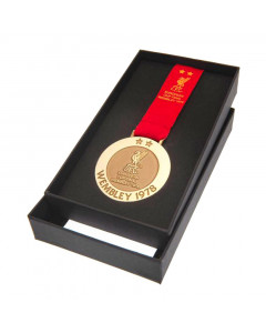 Liverpool FC Wembley 78 Replica Medaille