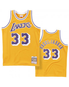Kareem Abdul-Jabbar 33 Los Angeles Lakers 1984-85 Mitchell & Ness Swingman Trikot