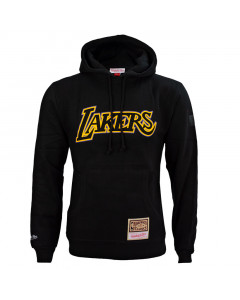 Los Angeles Lakers Mitchell & Ness Logo Pop pulover sa kapuljačom