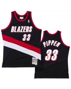 Scottie Pippen 33 Portland Trail Blazers 1999-00 Mitchell & Ness Swingman dres