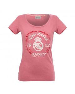 Real Madrid Damen T-Shirt N°9