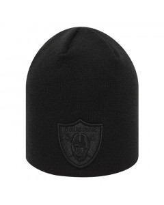 Las Vegas Raiders New Era Dark Base Skull Wintermütze