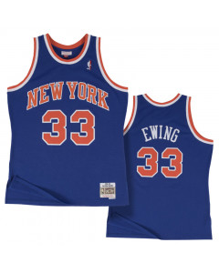 Patric Ewing 33 New York Knicks 1991-92 Mitchell & Ness Swingman Trikot