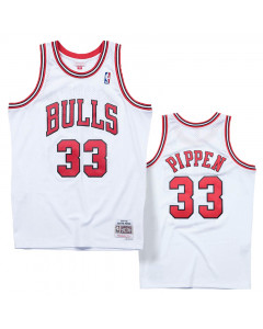 Scottie Pippen 33 Chicago Bulls 1997-98 Mitchell & Ness Swingman Trikot