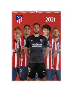 Atletico de Madrid koledar 2021