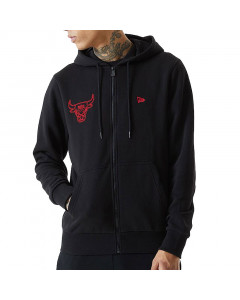 Chicago Bulls New Era Chain Stitch Kapuzenjacke
