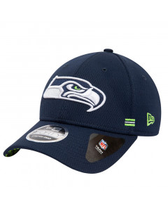 Seattle Seahawks New Era 9FORTY NFL 2020 Sideline Home Stretch Snap Mütze