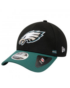 Philadelphia Eagles New Era 9FORTY NFL 2020 Sideline Home Stretch Snap Mütze