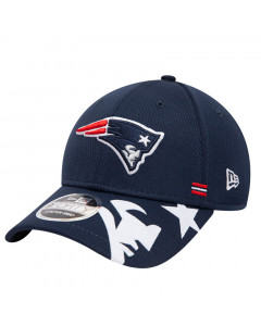 New England Patriots New Era 9FORTY NFL 2020 Sideline Home Stretch Snap Mütze
