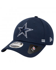 Dallas Cowboys New Era 9FORTY NFL 2020 Sideline Home Stretch Snap Mütze