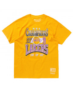 Los Angeles Lakers Mitchel & Ness 3x Champions T-Shirt