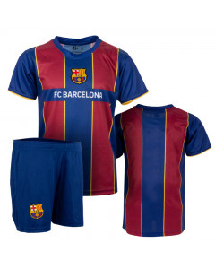FC Barcelona 1st Team Kinder Training Trikot Komplet Set