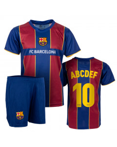 FC Barcelona 1st Team Kinder Training Trikot Komplet Set  (Druck nach Wahl +15€)