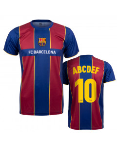FC Barcelona 1st Team Training T-Shirt 2021 (Druck nach Wahl +15€)