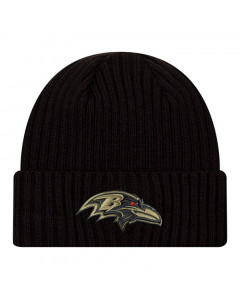 Baltimore Ravens New Era NFL 2020 Official Salute to Service Black Wintermütze