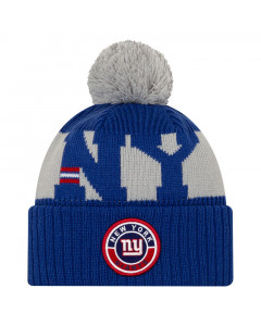 New York Giants New Era NFL 2020 Official Sideline Cold Weather Sport Knit zimska kapa