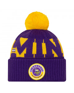 Minnesota Vikings New Era NFL 2020 Official Sideline Cold Weather Sport Knit zimska kapa