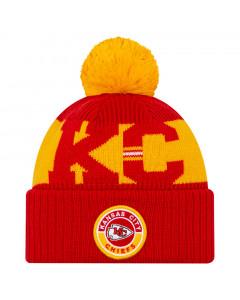 Kansas City Chiefs New Era NFL 2020 Official Sideline Cold Weather Sport Knit zimska kapa