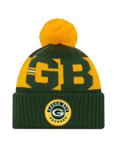 Green Bay Packers New Era NFL 2020 Official Sideline Cold Weather Sport Knit zimska kapa