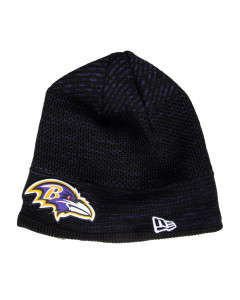 Baltimore Ravens New Era NFL 2020 Sideline Cold Weather Tech Knit zimska kapa