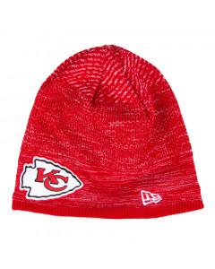 Kansas City Chiefs New Era NFL 2020 Sideline Cold Weather Tech Knit zimska kapa