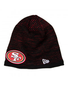San Francisco 49ers New Era NFL 2020 Sideline Cold Weather Tech Knit Wintermütze