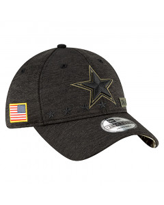 Dallas Cowboys New Era 9TWENTY NFL 2020 Official Salute to Service Mütze