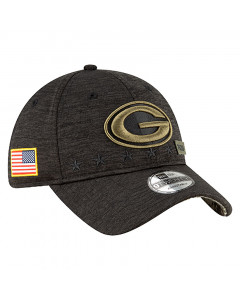 Green Bay Packers New Era 9TWENTY NFL 2020 Official Salute to Service Mütze