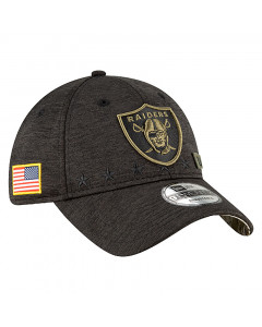 Las Vegas Raiders New Era 9TWENTY NFL 2020 Official Salute to Service Mütze