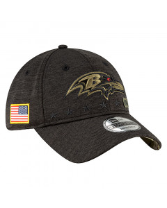 Baltimore Ravens New Era 9TWENTY NFL 2020 Official Salute to Service Mütze