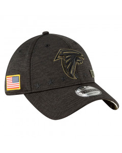 Atlanta Falcons New Era 9TWENTY NFL 2020 Official Salute to Service kapa