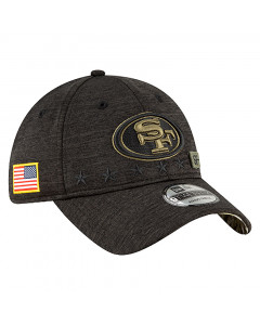 San Francisco 49ers New Era 9TWENTY NFL 2020 Official Salute to Service Mütze