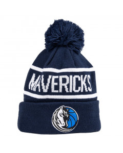 Dallas Mavericks New Era Jake Bobble Knit Wintermütze